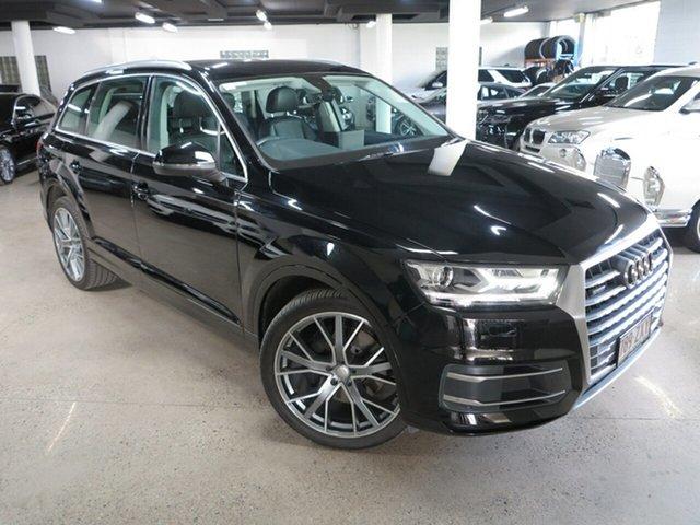 Used Audi Q7 4M MY19 45 TDI Tiptronic Quattro Albion, 2018 Audi Q7 4M MY19 45 TDI Tiptronic Quattro Black 8 Speed Sports Automatic Wagon
