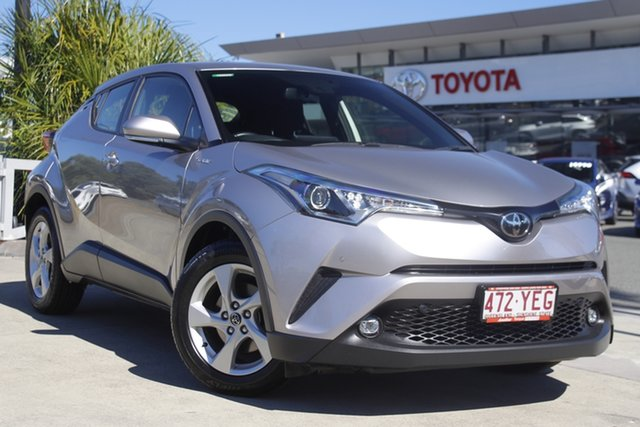 Pre-Owned Toyota C-HR NGX10R S-CVT 2WD North Lakes, 2018 Toyota C-HR NGX10R S-CVT 2WD Shadow Platinum 7 Speed Constant Variable Wagon