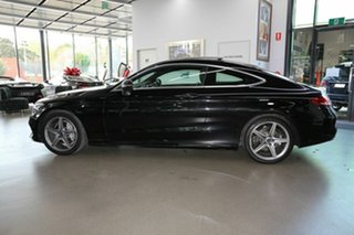 2017 Mercedes-Benz C-Class C205 807+057MY C200 9G-Tronic Black 9 Speed Sports Automatic Coupe