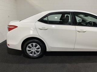 2016 Toyota Corolla ZRE172R Ascent S-CVT White 7 Speed Constant Variable Sedan