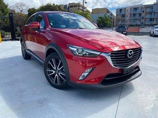 2015 Mazda CX-3 DK2W7A Akari SKYACTIV-Drive Red 6 Speed Sports Automatic Wagon.