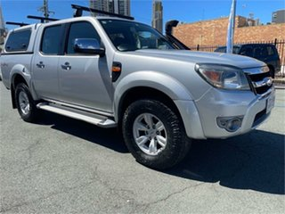 2010 Ford Ranger PK XLT (4x4) Silver Automatic Dual Cab Pick-up.
