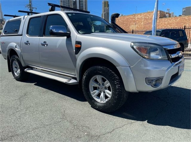 Used Ford Ranger PK XLT (4x4) Southport, 2010 Ford Ranger PK XLT (4x4) Silver Automatic Dual Cab Pick-up