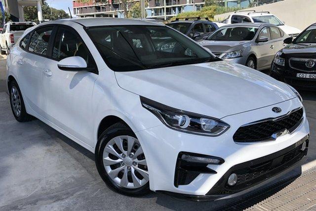 Used Kia Cerato BD MY19 S Zetland, 2019 Kia Cerato BD MY19 S Clear White 6 Speed Sports Automatic Hatchback