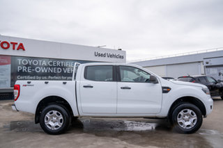 2017 Ford Ranger PX MkII MY18 XL 2.2 Hi-Rider (4x2) White 6 Speed Automatic Crew Cab Pickup