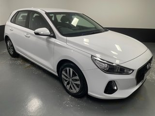2018 Hyundai i30 PD2 MY18 Active Polar White 6 Speed Manual Hatchback.