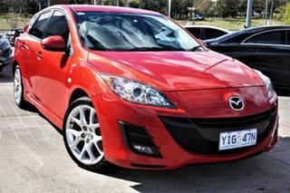 2010 Mazda 3 BL10F1 Maxx Sport Red 6 Speed Manual Hatchback.