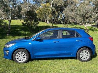 2021 Kia Rio YB MY22 S Sporty Blue 6 Speed Automatic Hatchback.