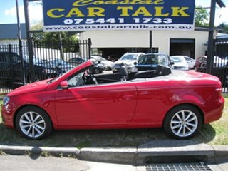 2011 Volkswagen EOS 1F MY12 103 TDI Red 6 Speed Direct Shift Convertible.