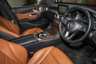 2016 Mercedes-Benz GLC-Class X253 807MY GLC250 d 9G-Tronic 4MATIC Cavansite Blue 9 Speed.