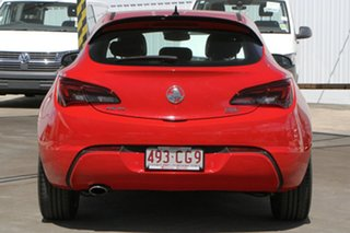 2015 Holden Astra PJ MY15.5 GTC Sport Red 6 Speed Automatic Hatchback