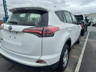 2017 Toyota RAV4 ZSA42R MY17 GX (2WD) Glacier White Continuous Variable Wagon.