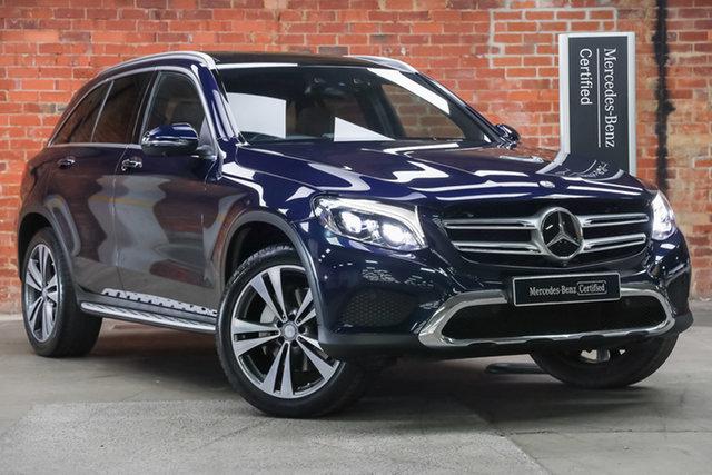 Certified Pre-Owned Mercedes-Benz GLC-Class X253 807MY GLC250 d 9G-Tronic 4MATIC Mulgrave, 2016 Mercedes-Benz GLC-Class X253 807MY GLC250 d 9G-Tronic 4MATIC Cavansite Blue 9 Speed
