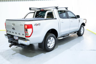 2014 Ford Ranger PX XLT Super Cab Silver 6 Speed Manual Utility