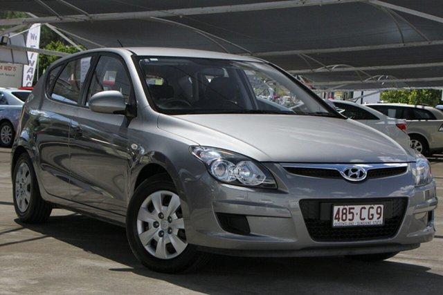 Used Hyundai i30 FD MY11 SX Bundamba, 2011 Hyundai i30 FD MY11 SX Silver 4 Speed Automatic Hatchback