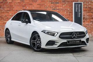 2020 Mercedes-Benz A-Class V177 800+050MY A180 DCT Digital White 7 Speed.