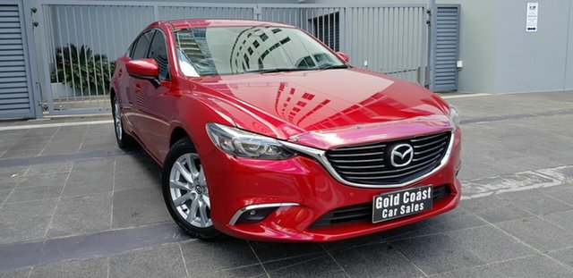 Used Mazda 6 6C MY17 (gl) Touring Southport, 2017 Mazda 6 6C MY17 (gl) Touring Red 6 Speed Automatic Sedan