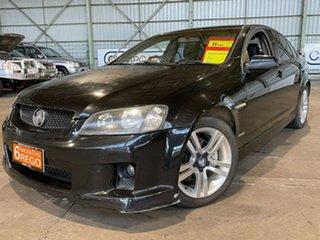 2010 Holden Commodore VE MY10 SV6 Black 6 Speed Sports Automatic Sedan.