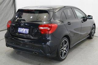 2014 Mercedes-Benz A-Class W176 A200 DCT Black 7 Speed Sports Automatic Dual Clutch Hatchback