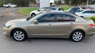 2010 Honda Accord 8th Gen MY10 VTi-L Gold 5 Speed Sports Automatic Sedan