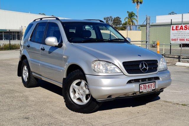 Used Mercedes-Benz M-Class W163 MY2000 ML320 Luxury Morayfield, 2000 Mercedes-Benz M-Class W163 MY2000 ML320 Luxury Silver 5 Speed Sports Automatic Wagon