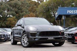 2017 Porsche Macan 95B MY17 S PDK AWD Diesel Grey 7 Speed Sports Automatic Dual Clutch Wagon.