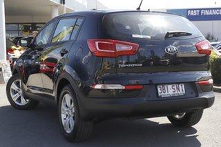 2012 Kia Sportage SL MY12 SI Cherry Black 6 Speed Sports Automatic Wagon.