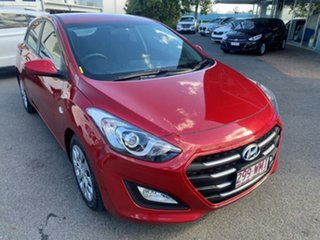 2016 Hyundai i30 GD4 Series II MY17 Active Scarlet Red 6 Speed Sports Automatic Hatchback.