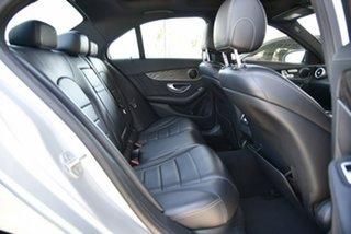 2015 Mercedes-Benz C-Class W205 806MY C200 7G-Tronic + Silver 7 Speed Sports Automatic Sedan