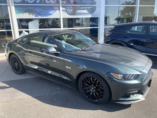Used Ford Mustang FM GT Fastback SelectShift North Lakes, 2016 Ford Mustang FM GT Fastback SelectShift Green 6 Speed Sports Automatic Fastback