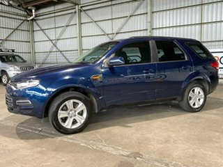 2011 Ford Territory SZ TS Seq Sport Shift AWD Blue 6 Speed Sports Automatic Wagon.