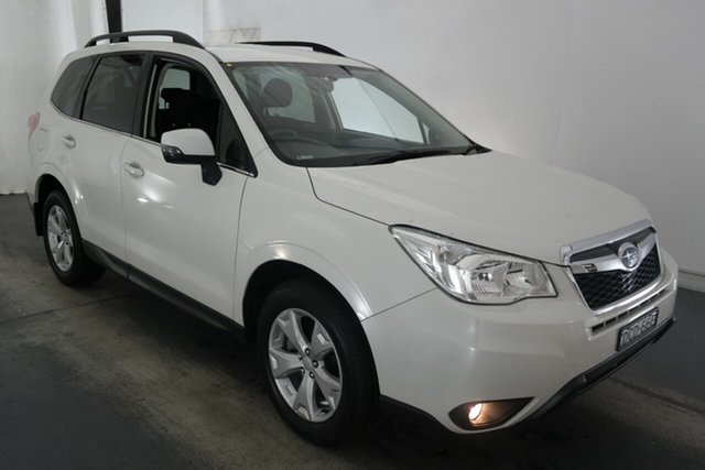Used Subaru Forester S4 MY15 2.0D-L AWD Maryville, 2015 Subaru Forester S4 MY15 2.0D-L AWD White 6 Speed Manual Wagon