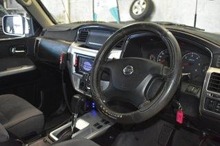2006 Nissan Patrol GU IV ST (4x4) Silver 4 Speed Automatic Wagon.