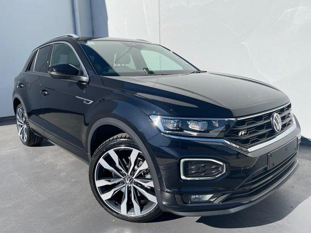 New Volkswagen T-ROC A1 MY21 140TSI DSG 4MOTION Sport Liverpool, 2021 Volkswagen T-ROC A1 MY21 140TSI DSG 4MOTION Sport Deep Black Pearl Effect 7 Speed