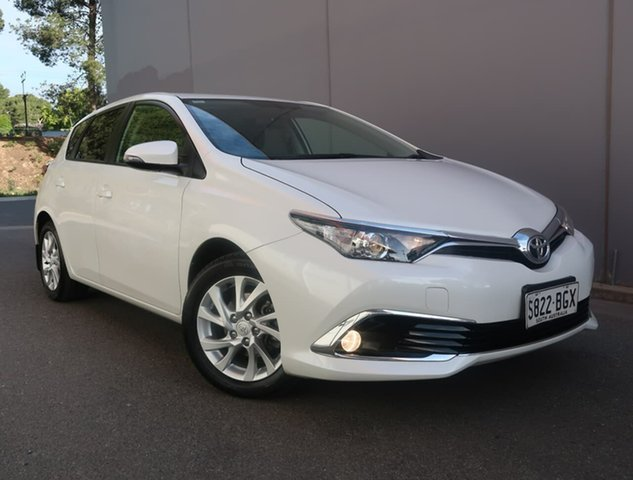 Used Toyota Corolla ZRE182R Ascent Sport Reynella, 2015 Toyota Corolla ZRE182R Ascent Sport Grey 6 Speed Manual Hatchback
