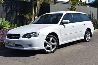 2003 Subaru Liberty B4 MY04 D/Range AWD Pearl White 5 Speed Manual Wagon.