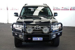 2018 Toyota Landcruiser VDJ200R MY16 VX (4x4) Onyx Blue 6 Speed Automatic Wagon.