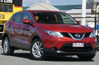 2014 Nissan Qashqai J11 TS Magnetic Red 1 Speed Constant Variable Wagon.