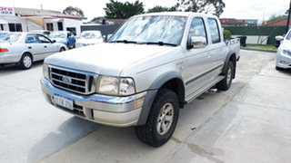 2006 Ford Courier PH (Upgrade) XLT Crew Cab 4x2 Silver 5 Speed Automatic Utility.