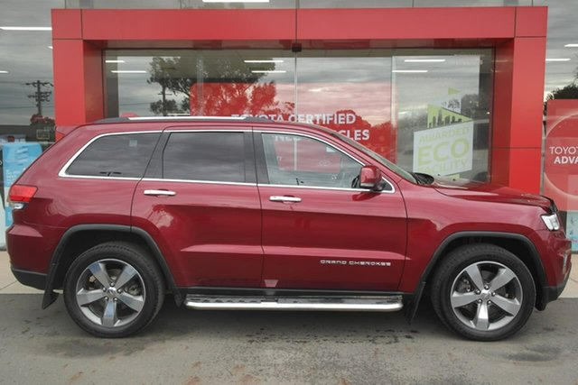 Used Jeep Grand Cherokee WK MY15 Limited Swan Hill, 2015 Jeep Grand Cherokee WK MY15 Limited 8 Speed Sports Automatic Wagon