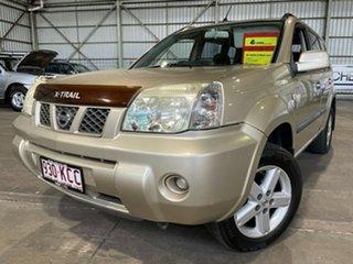 2007 Nissan X-Trail T30 II MY06 ST-S Gold 4 Speed Automatic Wagon.