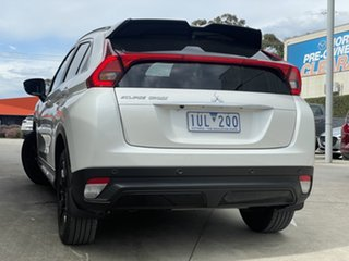 2019 Mitsubishi Eclipse Cross YA MY19 Black Edition 2WD White 8 Speed Constant Variable Wagon.