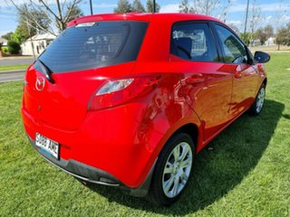 2011 Mazda 2 DE10Y1 MY10 Neo True Red 4 Speed Automatic Hatchback.