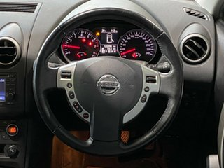2012 Nissan Dualis J107 Series 3 MY12 +2 Hatch X-tronic 2WD Ti-L Black 6 Speed Constant Variable