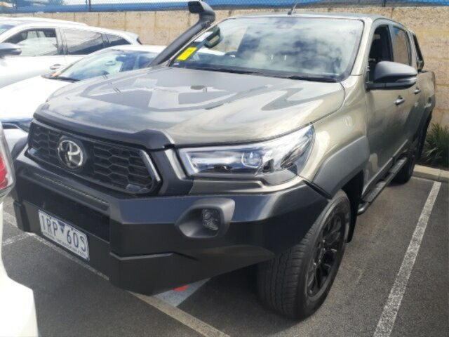 Pre-Owned Toyota Hilux GUN126R Rugged X Double Cab Myaree, 2020 Toyota Hilux GUN126R Rugged X Double Cab Oxide Bronze 6 Speed Sports Automatic Utility