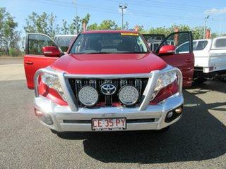 2017 Toyota Landcruiser Prado GDJ150R GXL Red 6 Speed Sports Automatic Wagon.