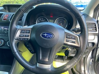 2015 Subaru Impreza G4 MY14 2.0i Lineartronic AWD Silver 6 Speed Constant Variable Hatchback