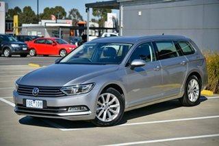 2019 Volkswagen Passat 3C (B8) MY19 132TSI DSG Comfortline Silver 7 Speed.