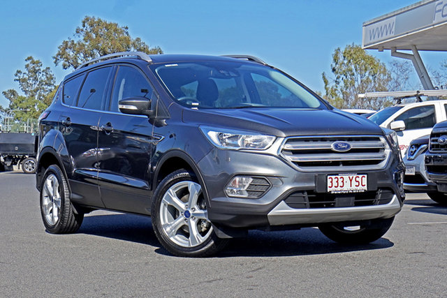 Used Ford Escape ZG Trend Ebbw Vale, 2017 Ford Escape ZG Trend Grey 6 Speed Sports Automatic SUV