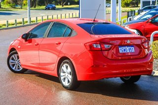 2017 Holden Astra BL MY17 LS Red 6 Speed Sports Automatic Sedan.